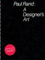Paul Rand : a designer's art