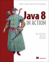 Java 8 in action : lambdas, streams, and functional-style programming
