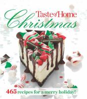 book cover image: Taste of home christmas