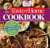 The Taste of Home cookbook : best[heart]loved recipes from home cooks like you