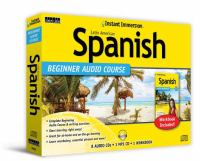 Instant immersion. Latin American Spanish beginner audio course.