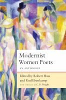 Modernist women poets : an anthology