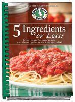 5 Ingredients or Less!