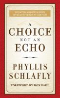 A choice not an echo