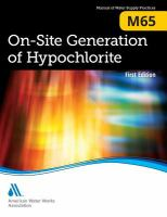 On-site generation of hypochlorite [electronic resource].