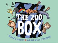 Cover of the book The zoo box