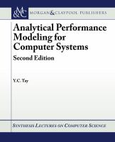 Analytical performance modeling for computer systems [electronic resource]