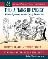 The captains of energy [electronic resource] : systems dynamics from an energy perspective