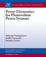 Power electronics for photovoltaic power systems [electronic resource]