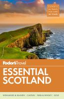 book cover image Fodor's Scotland