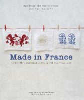 Made in France : cross-stitch and embroidery in red, white and blue