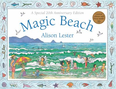 Book Cover - Magic beach