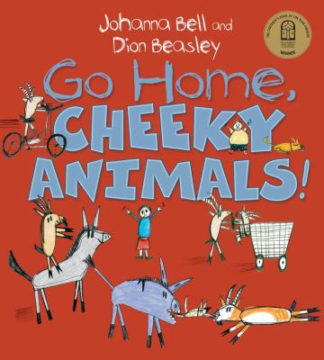 """Book Cover - Go Home, Cheeky Animals!"""" title=""""View this item in the library catalogue"""