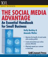 Social Media Advantage book cover