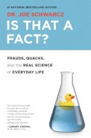 book cover image for Is that a fact? : frauds
