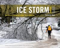 Ice storm, Ontario 2013 : the beauty, the devastation, the aftermath
