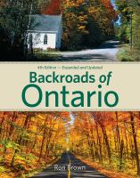book cover image Back Roads of Ontario