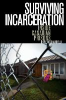 Surviving incarceration : inside Canadian prisons