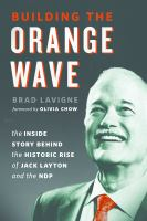 book cover Building the Orange Wave