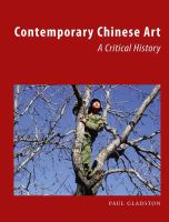 Contemporary Chinese art : a critical history