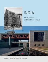 India : modern architectures in history