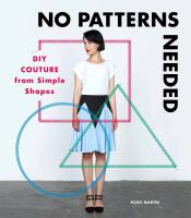 DIY couture from simple shapes