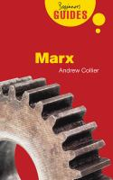 Marx [electronic resource] : a beginner's guide