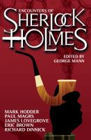 Encounters of Sherlock Holmes [electronic resource]