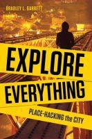 book cover image for Explore Everything