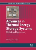 Advances in thermal energy storage system [electronic resource] : methods and applications