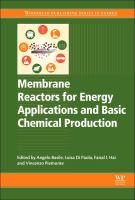 Membrane reactors for energy applications and basic chemical production [electronic resource]