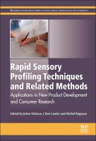 Rapid sensory profiling techniques and related methods [electronic resource] : applications in new product development and consumer research