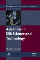 Advances in silk science and technology [electronic resource]