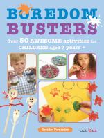 Book Cover image of Boredom Busters