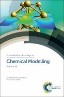 Chemical modelling. Volume 12 [electronic resource]
