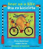 Bear on a bike = Oso en bicicleta