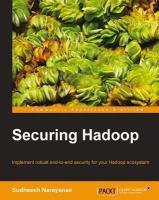 Securing Hadoop [electronic resource]