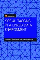 Social tagging in a linked data environment /