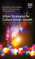 Urban strategies for culture-driven growth : co-creating a European capital of culture