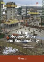 Urban regeneration and sustainability