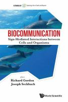 Biocommunication : sign-mediated interactions between cells and organisms /