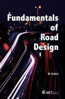 Fundamentals of road design [electronic resource]