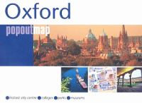 Central Oxford popout map /