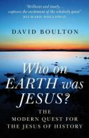 Who on Earth Was Jesus?
