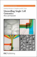 Unravelling single cell genomics [electronic resource] : micro and nanotools