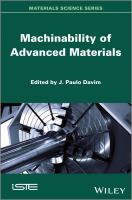 Machinability of advanced materials [electronic resource]