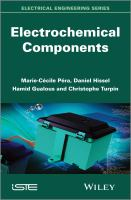Electrochemical components [electronic resource]