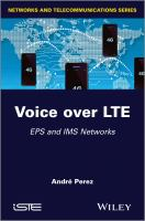 Voice over LTE [electronic resource] : EPS and IMS networks
