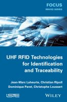Uhf RFID Technologies for Identification and Traceability [electronic resource]