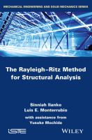 The Rayleigh-Ritz method for structural analysis [electronic resource]